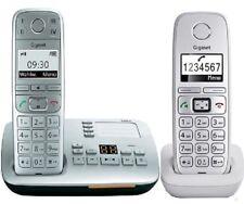 DUO Siemens Gigaset E500A senioren DECT Telefon ECO mit E310H Mobilteil 2-er SET