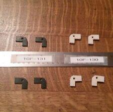 "Atlas/Craftsman Lathe 10""& 12"" Saddle Wiper Felt and Rubber   10F-130 & 10F-131"