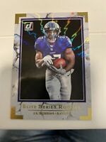 2020 Donruss Football Jk Dobbins Elite Series Rookies Rookie Card #ESR-JD