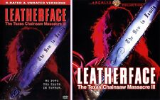 Leatherface: The Texas Chainsaw Massacre III blu ray dvd