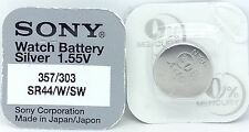 SONY 303/357 SR44SW V303 303 SR1154SW WATCH BATTERY