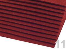Filzplatte 20x30cmx3mm Schlüsselanhänger Filzstoff Bastelfilz bordeaux