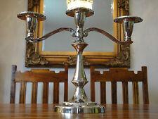Kerzenhalter Kandelaber Jugendstil Silber Antik Barock Kerzenständer Edel Luxus