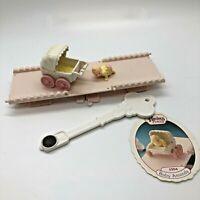 Precious Places Fisher Price Baby Amanda Magnetic Key Miniature Dollhouse Vtg