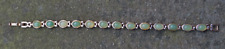 Vintage Bracelet with Jadeite Stones + Magnets for Health Benefits.