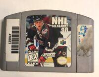 NHL Breakaway 98 (Nintendo 64, 1998) N64 Cart Only