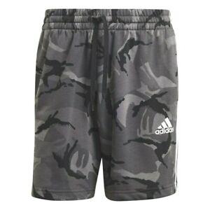 Shorts Sports ADIDAS Man Camouflage Grey Short With Pockets Essentials