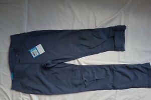 NWT Slate Blue CoLUMBIA OMNI SHADE UPF 50 Pilsner Peak Roll Up Pants 4 Short
