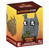 Exploding Kittens Dynamite Kitten Buildable Figure Figurine Constructible 142pcs