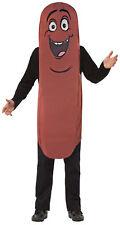 Sausage Frank Adult Men's Costume Wiener Food Tunic Halloween Rasta Imposta