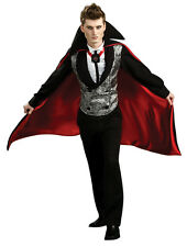 Adult Nightfall Vampire Fancy Dress Halloween Costume (Standard) Brand New