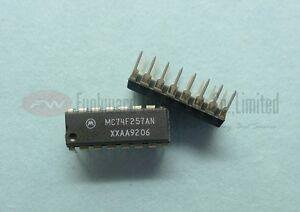 Motorola MC74F257AN 74F257 LOGIC MUX QUAD 2-INPUT Flip Flop DIP-16 x 1pc