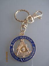 NEW Masonic Past Master  Keychain