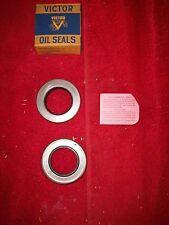 Hudson Terraplane Durant NOS Victor Pinion Shaft Oil Seals Pair