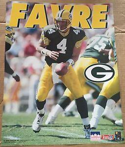 Brett Favre Green Bay Packers 16x20 Starline Poster OOP