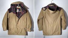VTG Columbia Jacket Coat Plaid Wool Lining Hooded Mens MEDIUM M Parka Super Nice