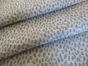 Animal Skin Taupe Upholstery Fabric 1 1/3 Yds Cheetah Spots Dots Calico Corners