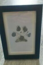 Inkless Dog Paw Print Kit With Black Frame