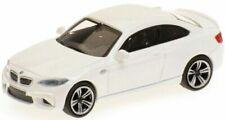 Véhicules miniatures blancs BMW 1:87