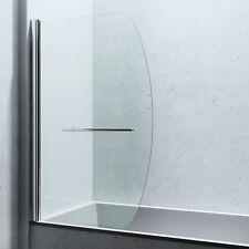 SoGood: Glas-Duschabtrennung Duschwand für Badewanne Badewannenfaltwand Cor112