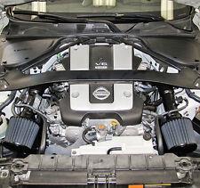 K&N Blackhawk Dual Air Intake System, for '09-17 Nissan 370Z & '08-13 G37, +9HP