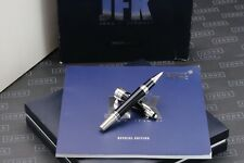 More details for montblanc great characters jfk blue special edition rollerball pen
