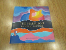Ted Harrison:Painting Paradise softcover Book -Katherine Gibson-new in the box