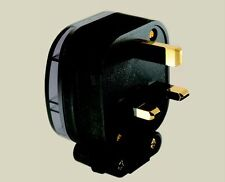 MS HD POWER GOLD PLATED COPPER UK MAINS PLUG | GOLD PLATED FUSE | AUDIOPHILE