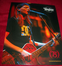 Red Jumpsuit Apparatus *Ronnie Winter* Taylor Guitars Promo Poster<<>>RARE