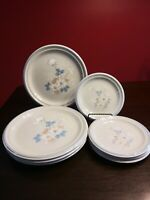 "Set Of 8 Studio Nova ""Expressions Spirit"" Dinnerware (A9976). 4 Dinner & 4 Salad"