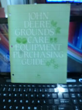 John Deere Grounds Care Equipment Purchasing Guide EXCELLENT  AND LOADED W INFO