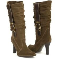 Coach Noreen Suede Slouch Heel Boot / Size 8.5
