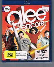 Glee Encore ex-rental blu ray (music program) CHEAP