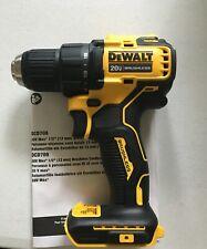 New Dewalt Dcd708 Atomic 20V 20 Volt Max Li-Ion 1/2� Brushless Drill Driver