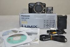 Panasonic LUMIX DMC-GF3 12.1MP Digital Camera (Black)  Body Only - w/ BOX