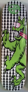 Jim Phillips Santa Cruz Pocket Pistols Skateboard. Made In USA