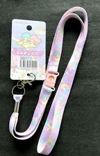 SANRIO Little Twin Stars Cute Neck Strap 52cm 20.47inch purple