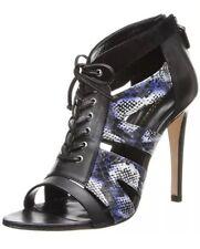 Rebecca Minkoff Reed Snake Print Sandals 3192 Size 10 M - Lapis Blue