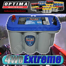 OPTIMA BLUE TOP BATTERY 12 VOLT NEW AGM D31M 900CCA DEEP CYCLE MARINE DUAL BOAT
