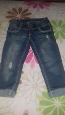 woman almost famous jeans capri size 3