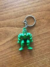 Rubber Green Monster Keyring - NEW