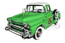 "1958 GMC STEPSIDE PICKUP TRUCK ASPEN GREEN ""HAYS"" 1/24 DIECAST CAR M2 40300-70 B"