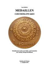 Medaillen-Katalog TSCHECHOSLOWAKEI, als pdf-Version
