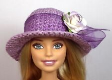'GRAPE PARFAIT' One of a kind Hat only hand made for Barbie