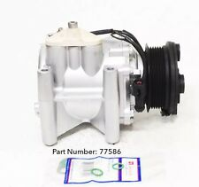 00-08 JAGUAR S-TYPE; 00-05 LINCOLN LS A/C COMPRESSOR WITH ONE YEAR WARRANTY.
