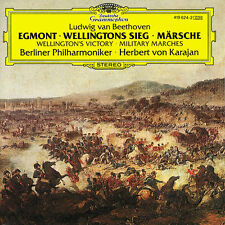Beethoven cd egmont wellingtons sieg märsche karajan