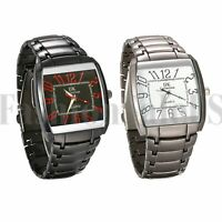Hot Men's Luxury Quartz Sport Military metal Band Stainless Steel Wrist Watch