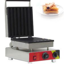 Commercial Nonstick Electric 7Pcs Spanish Donut Machine Churros Baker Maker 220V