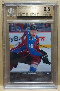 15-16 Upper Deck Mikko Rantanen Young Guns BGS 9.5 GEM MINT Rookie 2015