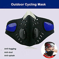 Outdoor Cycling Air Purifying Face Mask Cover Haze Washable Reusable Filter US